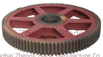 Industry, Gear, cutting plate machine gear, 4X2000 6.3X2000 8X2500 13X2500 shearing machine gear