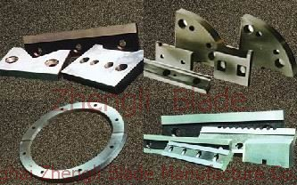 Cutter, Profile cutting blade, profile cutting machine blade, billet profile cutting blade machine with a blade