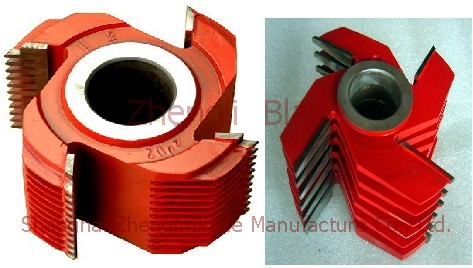 Specifications, Finger joint cutter, site of finger jointing knife, monolithic finger jointing knife
