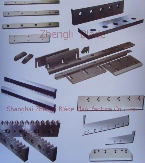 Manufacturers, Zigzag type flat blade, serrated flat blade, serrated blade